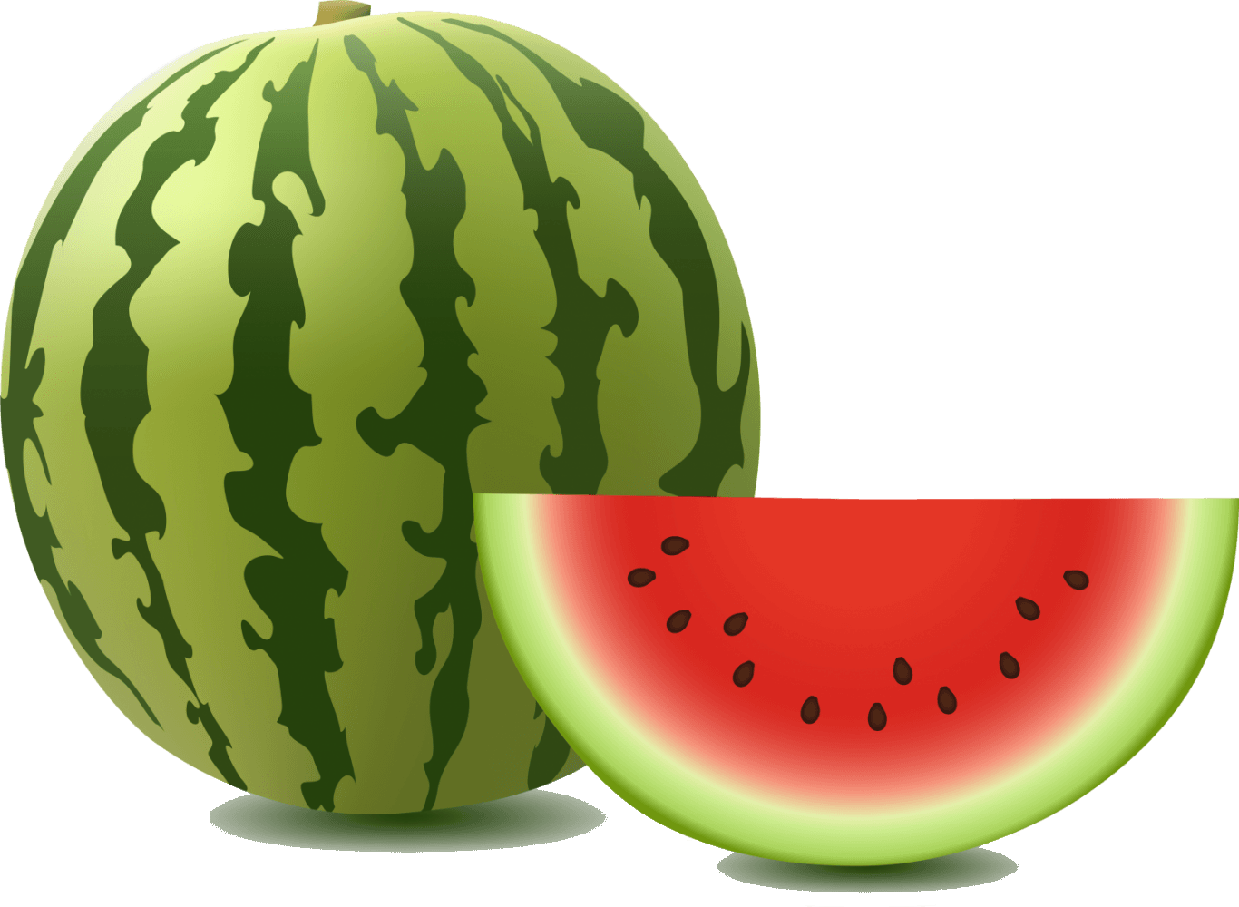 A large watermelon